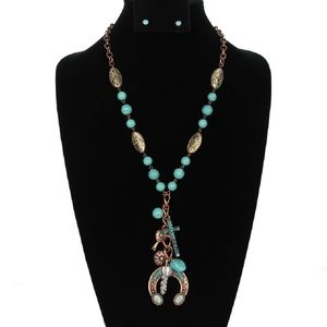 Jewelry - Long Squash Blossom Sweater Necklace
